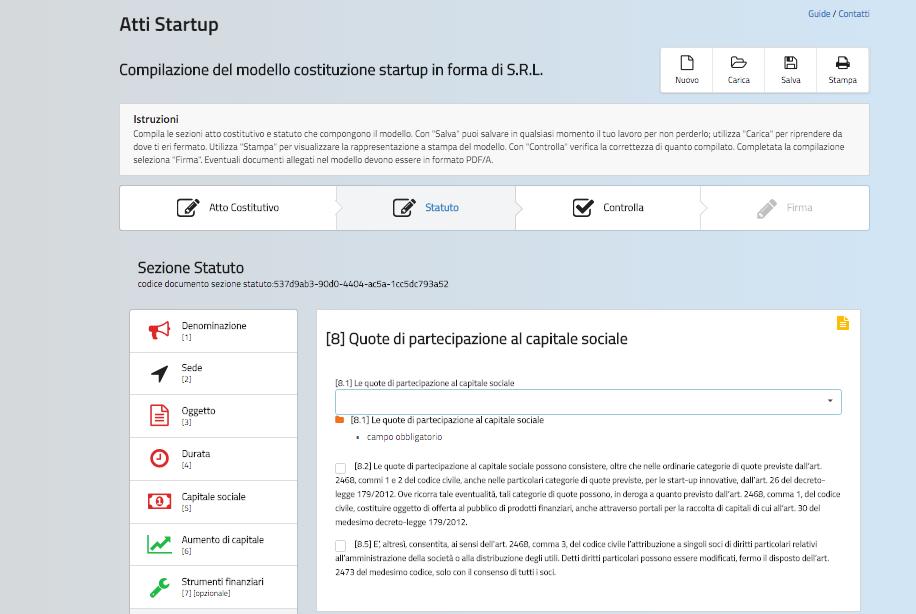 Fare start up in italia senza notaio vantaggi e svantaggi for Idee start up e commerce