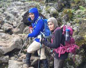 haya-al-ghanim-and-amina-ahmani-hike-mount-kilimanjaro-2