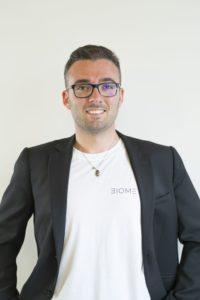 Matteo Beccatelli,co-fondatore e Cto di Biometrica