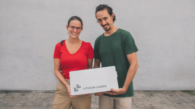 I fondatori di Lithium Lasers